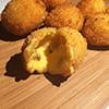 Bolitas de queso con jalapeño