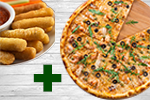 Oferta pizza especialidad + complemento a elegir